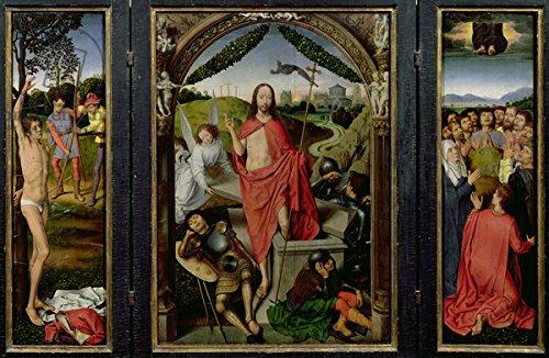 C. 1485 Oil (Alu-Dibond-Bild 140 x 90 cm: