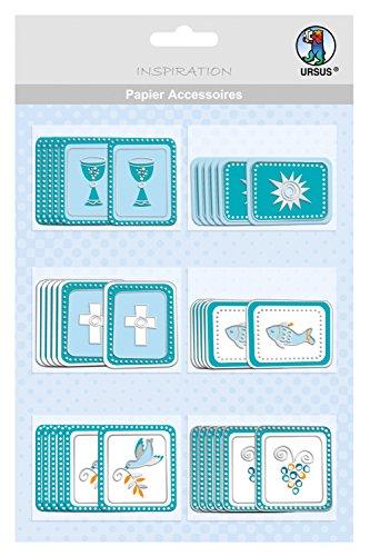 Ursus 56500047 - Papier Accessoires, Glory, petrol