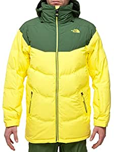 The north face - THE NORTH FACE - Veste Ski Homme - KNUCKLE DOWN JACKET M Jaune/Vert - tailles: XL