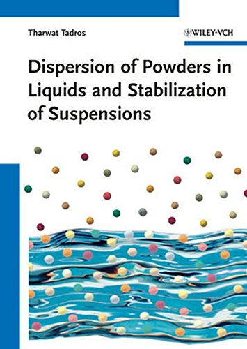 Dispersion of Powders: in Liquids and Stabilization of Suspensions