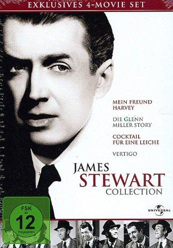 Bild von James Stewart Collection (Mein Freund Harvey, Die Glenn Miller Story, Cocktail für eine Leiche, Vertigo)
