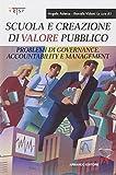 Scuola e creazione di valore pubblico