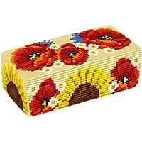 Brigantia Needlework - Kit per fermo porta arazzo del lavoro di cucito  a punto croce - D1752 Vendemmia
