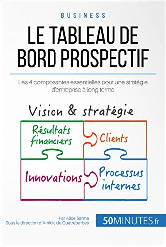 Le tableau de bord prospectif: Les 4 composantes essentielles pour une stratégie d'entreprise à long terme (Gestion & Marketing ( nouvelle édition ) t. 20) par Alice Sanna