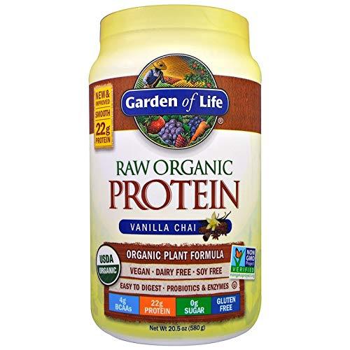 Garden of Life, Rohes Bio-Protein, Bioe Pflanzenformel, Vanille Chai, 580 g