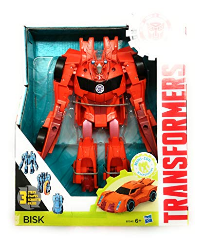Hasbro Transformers Robots in Disguise 3-Step Changers Bisk