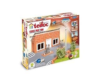 Teifoc - 2042830 - Jeu De Construction En Briques - Station Service