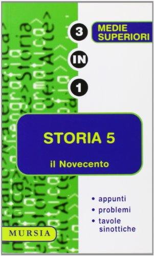 storia 5 il novecento (Tre in uno)