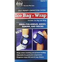 Compression Ice Bag with Wrap Strap - 1 Ea by CARA INC. preisvergleich bei billige-tabletten.eu