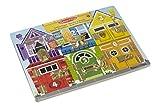 Melissa and Doug Gioco in legno Il puzzle delle serrature e lacci - tavola attività immagine