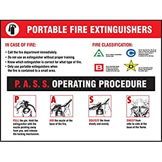 Accuform Signs PST412 Safety Awareness Poster,
