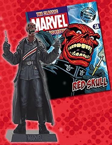 Marvel Figurine Collection #34 Red Skull (Die X-men Kostüme)
