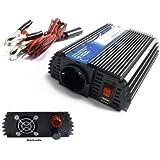 Convertidor transformador de 24 V 220/230 V 600 Watt + 5 V conector de carga USB