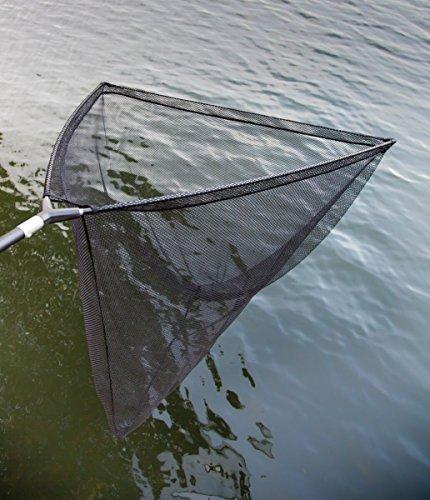DD-Tackle Karpfenkescher 106cm Unterfangkescher Carp Net + 1,80m Kescherstange Großfischkescher Landing Carp Net Karpfen Kescher Hecht Zander