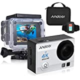 "White: Andoer 4K 1080P Wifi Sports Action Video Camera 16MP 2"" Ultra-HD LCD 170 Degree Wide-Angle Lens Waterproof Mini Camera Camcorder"