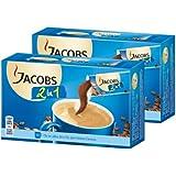 Jacobs 2en1 Café soluble, Lot de 2, 2 x 10 Portions individuelles