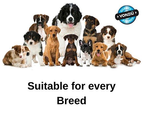 Vonziu Elite Premium Hundefutter / Welpenfutter – Hochenergetische Tiernahrung – Für kleine & große Hunderassen – Hypoallergen – Reich an Fischöl / Vitaminen / Mineralien – 100% Bio-Zutaten - 3