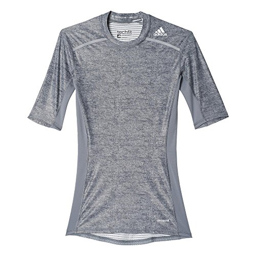 adidas Herren T-shirt TF Chill SS Core Heather