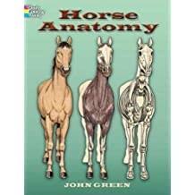 Horse Anatomy Coloring Book (Dover Nature Coloring Book)