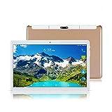 Android 8.1 10 Zoll (10.1') Tablet PC(Octa-Core,4GB RAM,64GB eMMC,IPS HD 1280x800,3G Dual-SIM,WiFi,Bluetooth,GPS,OTG) Gold