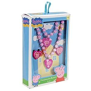 Peppa Pig – Estuche con Collar y Joyas, Color Rosa (Cerdá 2502-453)
