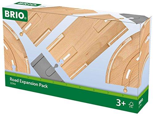 Preisvergleich Produktbild BRIO 33744 - Straßen-Erweiterungs-Set, Stadtleben