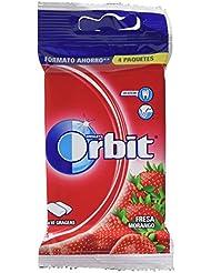 Orbit Chicle Sin Azúcar Con Sabor A Fresa ...