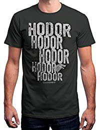 Redwolf Hodor HBO® Licensed Game Of Thrones Half Sleeve Cotton T-shirt