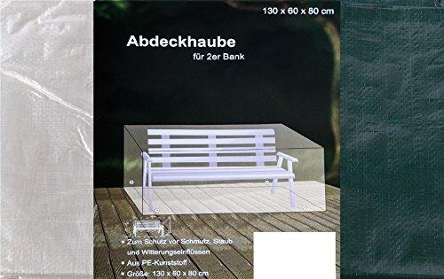Abdeckhaube für 2er Bank Möbelabdeckung (grün)
