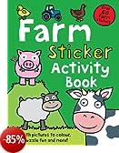 Farm Sticker Activity Book (Preschool Sticker Activity Books)