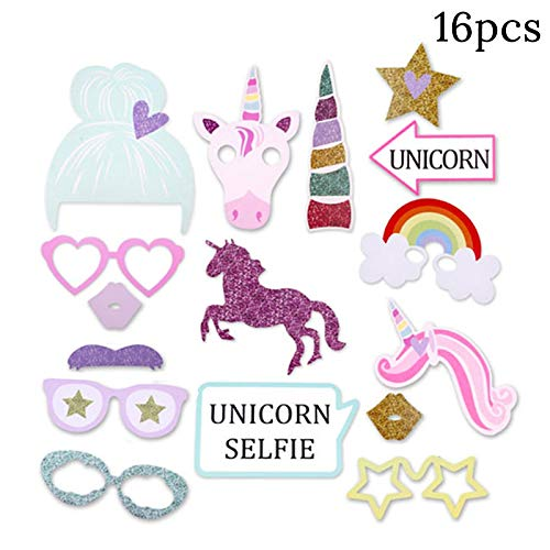 1set Unicorn Party Supplies Pink Rainbow Unicorn Banner Plate Balloon Napkin Cupcake Wrapper Baby Shower Kids Birthday Decor