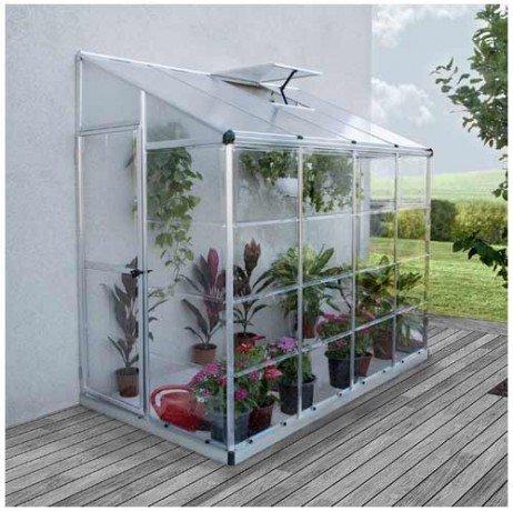 Serre adossée LEAN Hybrid Grow 3,05 m²
