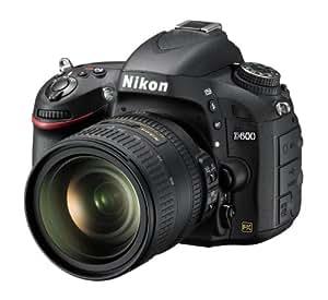 Nikon D600 Appareil photo numérique Reflex 24.3 Kit Objectif AF-S VR Nikkor 24-85 mm Noir