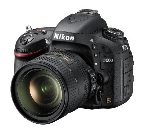 Nikon D600 SLR-Digitalkamera (24,3 Megapixel, 8,1 cm (3,2 Zoll) Display, Full HD, Live View) Kit inkl. AF-S 24-85mm 1:3,5-4,5G ED VR schwarz (Slr-digitalkamera D600 Nikon)