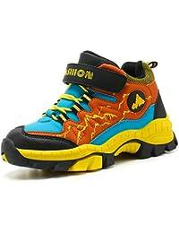 MEAYOU Scarpe da Escursionismo Bambini Scarpe da Trekking Sneaker Sportive  Esterne Scarpe da Arrampicata Caldo Invernali 8a4950fa89d