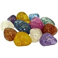 10 Magic Stones   Gefrostete bunte Bergkristalle im Beutel   Eine tolle Idee für Kinder, Schmuckherstellung oder Dekoration