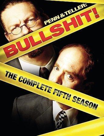 Penn & Teller: Bullshit!: The Complete 5th Seasons (B.S.! Cover Edition)