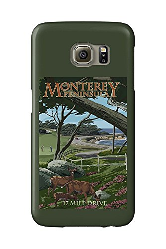 Monterey Peninsula, California - 17 Mile Drive (Galaxy S6 Cell Phone Case, Slim Barely There) (Mile 17 Drive)