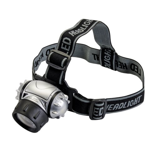 51DDbPMGI L. SS500  - Silverline 140079 12-LED Head Torch 3 x AAA Batteries 50 Lumens