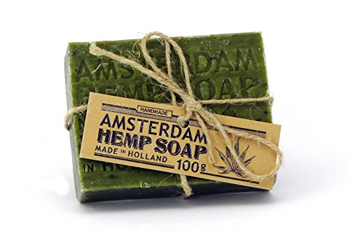 AMSTERDAM I Hemp Soap I Hanf Seife I Handseife I Made in Holland I 100g