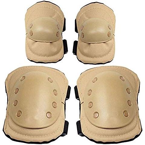 BAITER nuovo Outdoor militare tattico gear ginocchio e gomito Pads polso Support Set 4pezzi tuta di protezione arrampicata pattinaggio caccia Equipments,