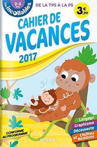 Cahier de vacances Incollables - TPS - 2-3 ans
