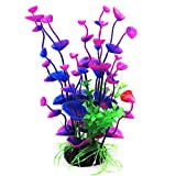 ROSENICE Aquariumpflanzen Plastikpflanzen Kunstpflanze Kunststoff Blumen