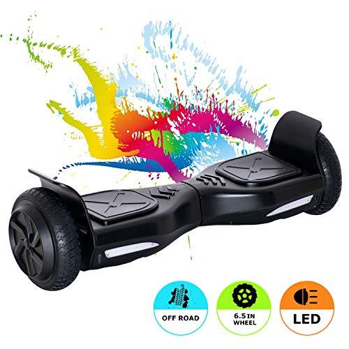 "MARKBOARD Hoverboard Elektro Scooter 6,5 Zoll E-Star 2019 E Balance Scooter E Board- 350W Motor (6,5"" schwarz)"