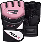 RDX MMA Gloves Grappling Martial Arts Sparring...