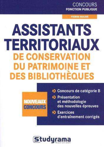 Assistants territoriaux de conservation du patrimoine et des bibliothèques
