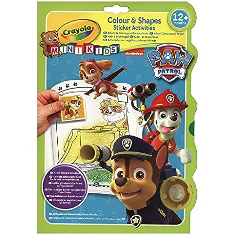 Vivid Imaginations Crayola, libro di attività per bambini, colori e forme (Multi-colore)