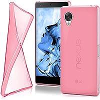 Cover di protezione LG Google Nexus 5 Custodia Case silicone sottile 0,7mm TPU | Accessori Cover cellulare protezione | Custodia cellulare Paraurti Cover Traslucida Trasparente