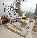 Odefc WYQzz Europäischen Stil Wohnzimmer Teppich Sofa Tisch Pad Schlafzimmer Nacht Halle voll Shop rechteckigen minimalistischen modernen amerikanischen Teppich (Farbe : L, größe : 2.0m*3.0m+Doormat)