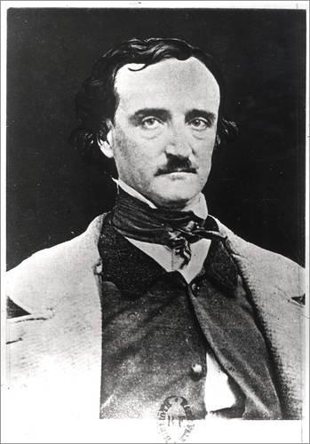 Poster 60 x 80 cm: Edgar Allan Poe von Sarah Ellen Whitman/Bridgeman Images - hochwertiger Kunstdruck, neues Kunstposter